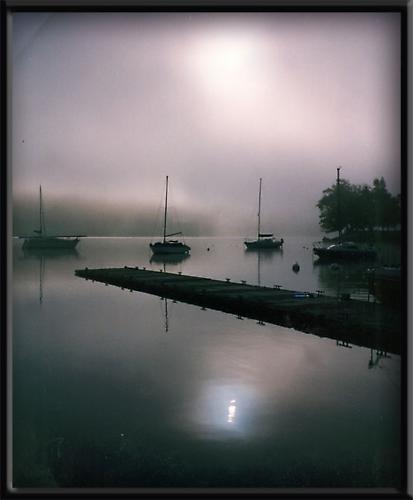 Misty Coniston Water by jeanie