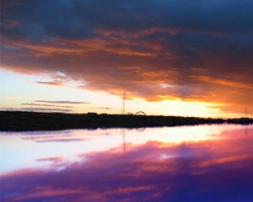 sun going down by leanne56