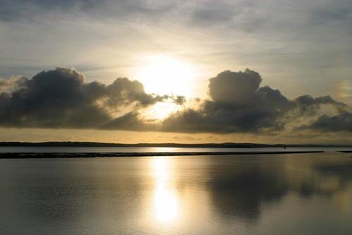 Sunrise Hervey Bay by adamm