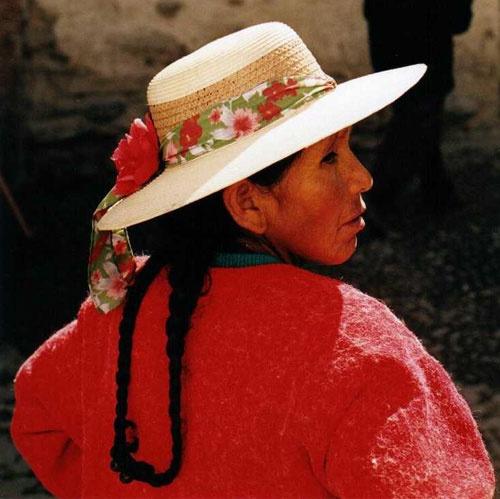 peruvian woman by ihana
