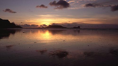 Rhossili Sunset by mattw