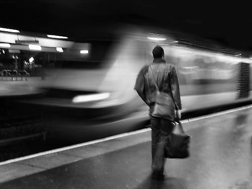 Last train by thanhtran