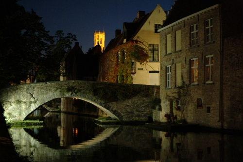 Brugge Peerdenbrug by Johan Vandenberghe
