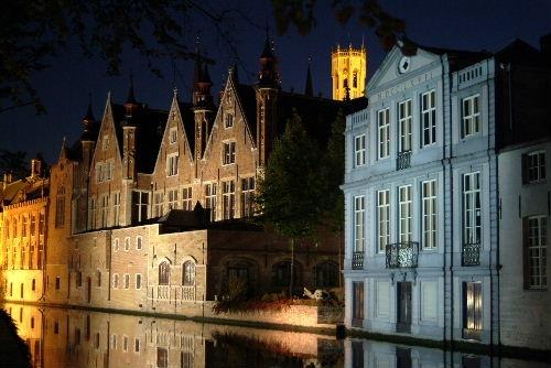 Brugge Steenhouwersdijk by Johan Vandenberghe