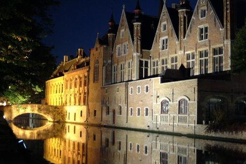 Brugge Steenhouwersdijk 2 by Johan Vandenberghe