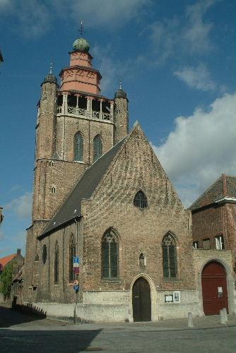 Brugge Jeruzalemkerk by Johan Vandenberghe