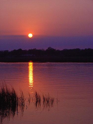 Marsh Sunset no 19 by notabimbo