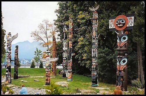 Totem Poles by davey
