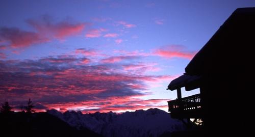 Verbier Sunset by nicbone