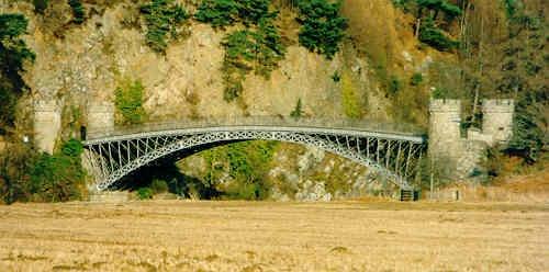 Craigellachie Bridge by stompie