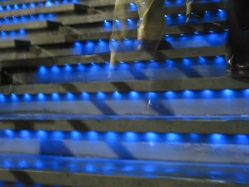 Stair lights by hdewachi