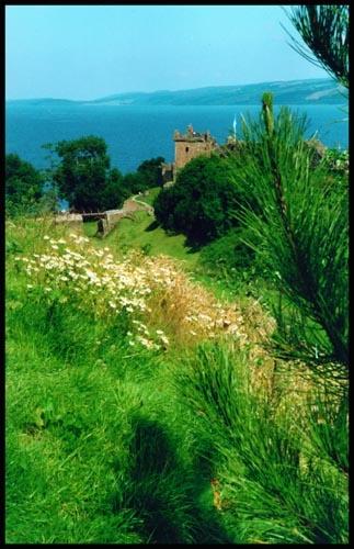 Urquart Castle Loch Ness by jimthistle73