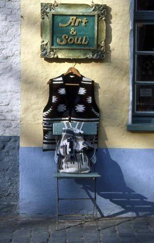 Bruges - side street shop by saxon_image