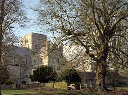 St Cross Abbey by saxon_image