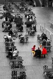 Tea at the barbican