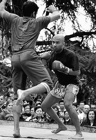 Thai Kick Boxing by aworan