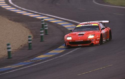 Ferrari at Le Mans by mattw
