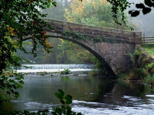 misty bridge by pks