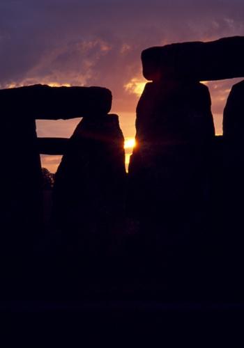 Sunrise at Stonehenge by goatster