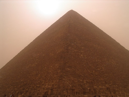 Great Pyramid of Giza by tj