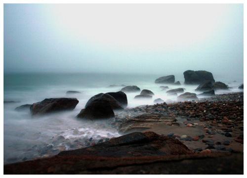 New England after dark by moggo