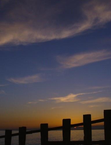 sunset sky by annadave