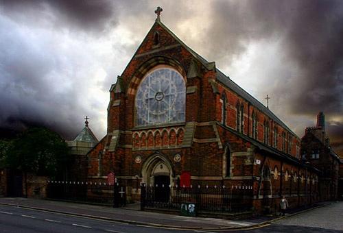 Church and Heavens by ericfaragh