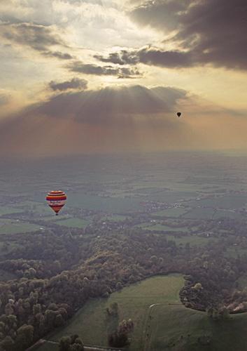 Up, Up and away by minoltaandy