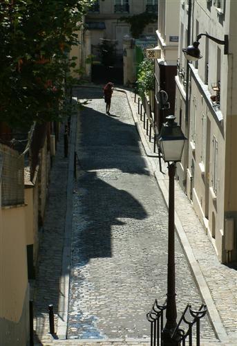 Parisian Street Scene by tezza