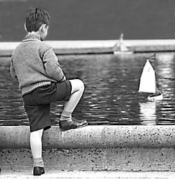 A boy & a boat (II)