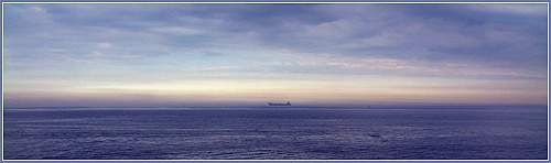 Distant Ship by ross_hamill