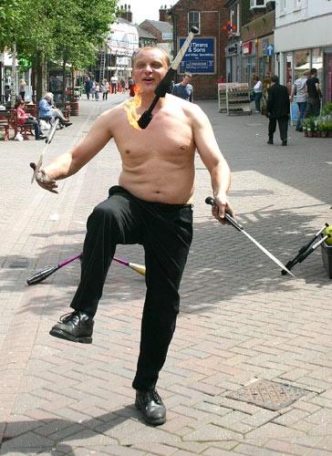 Street Entertainer by tonyb55