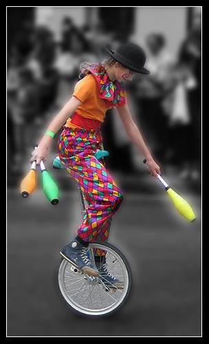 The Juggler... by pdunn