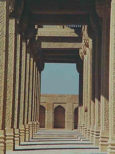 Pillars by shahbaz