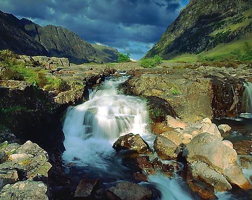 Lower falls Glencoe by hwatt
