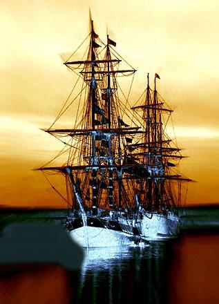 Ghost Ships by davecalver