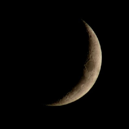 Crescent Moon by BigCol