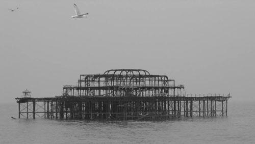 Brighton West Pier by chrisskipp