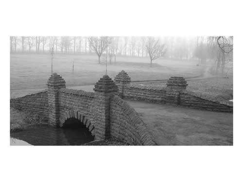 Footbridge on a foggy day by paresh72