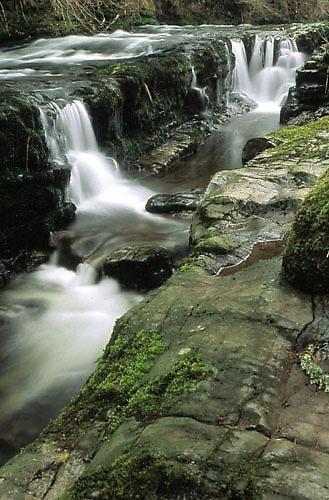 Afon Mellte Waterfalls by eos3