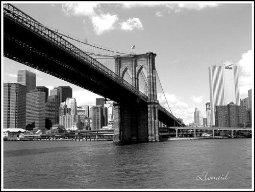 \'Under Brooklyn Bridge\' by llonaid