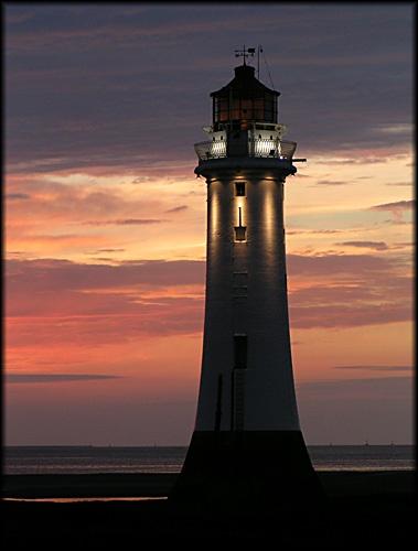 New Brighton Sunset 2 by Anthony