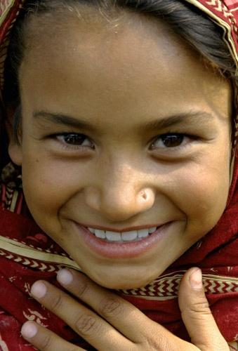 Pakistani Girl by Linda L. Hudson