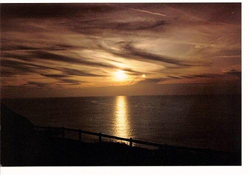 Atlantic Sunset by hattrick