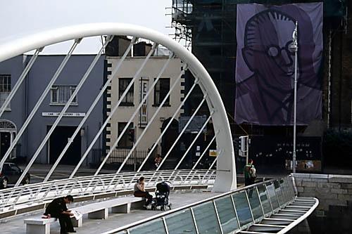 Millennium Bridge Dublin by saxon_image