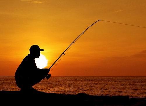 Lonely Fishing by ariandino