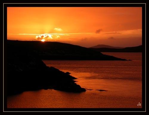 Uist Sunset (1) by tandav
