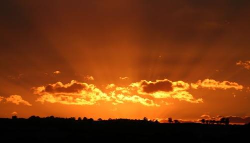 Shropshire Sunset by muddymoose