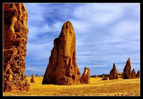 The Pinnacles by kjs