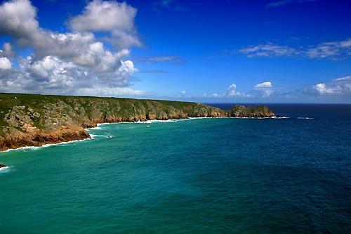 Porthcurno, Cornwall by rusmi
